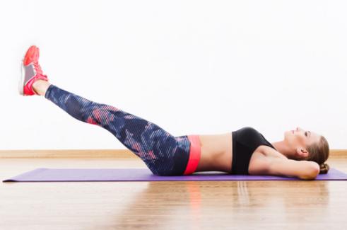 【お腹痩せダイエット】効果的な足上げ腹筋はどこが鍛えられる?