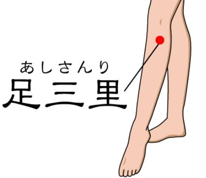 ふくろはぎにある脚やせ効果のある「つぼ」の場所は?